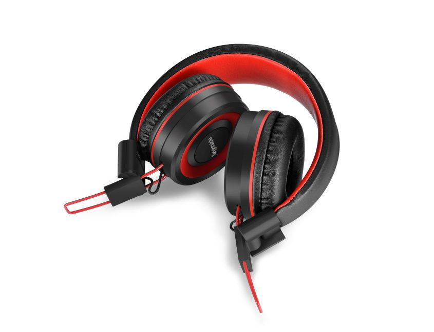 Wireless-headphones-flex-red