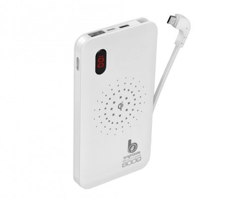 Wireless-Power-Bank-8000-mAh-white