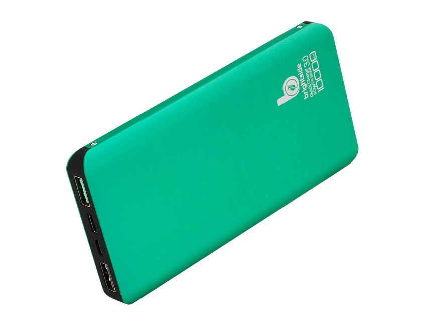 Power-Bank-quick-charge-10000-mAh-green
