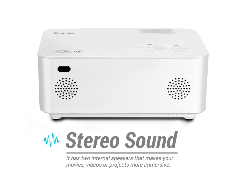 Projector-LED-1500-lumens-stereo