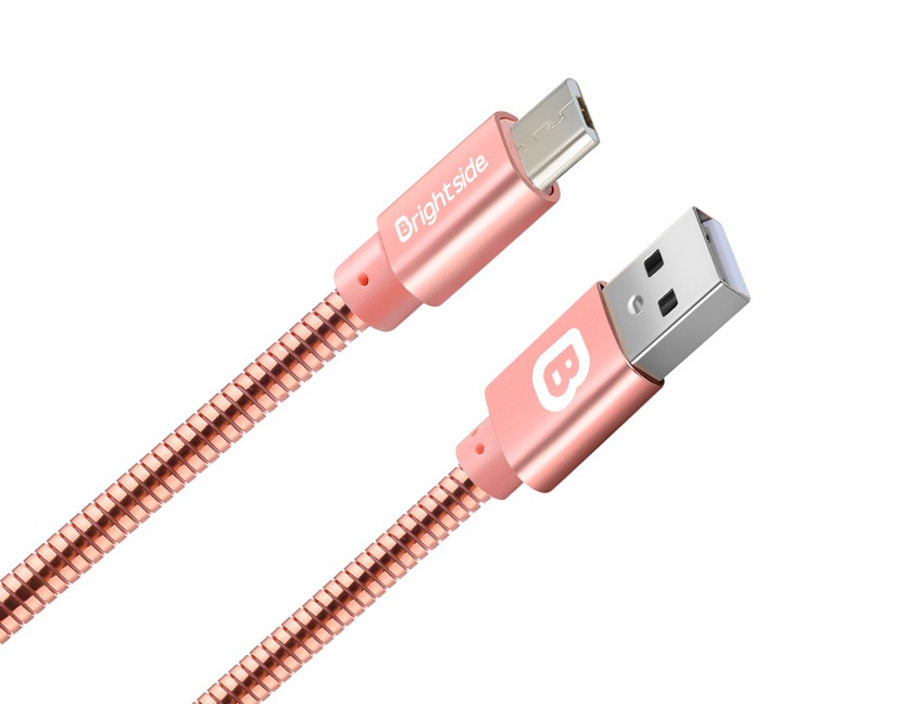 Metal-data-charging-cable-rose