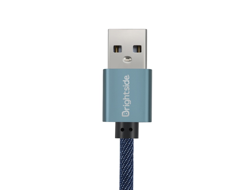 Nylon-jean-data-charging-cable-entry