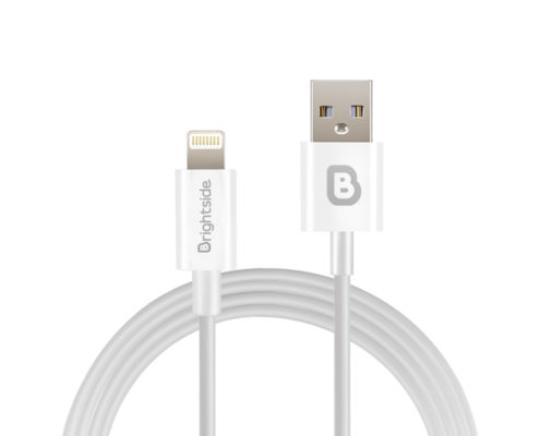 TPU-data-charging-cable-white