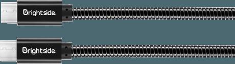 Metal-cable-black