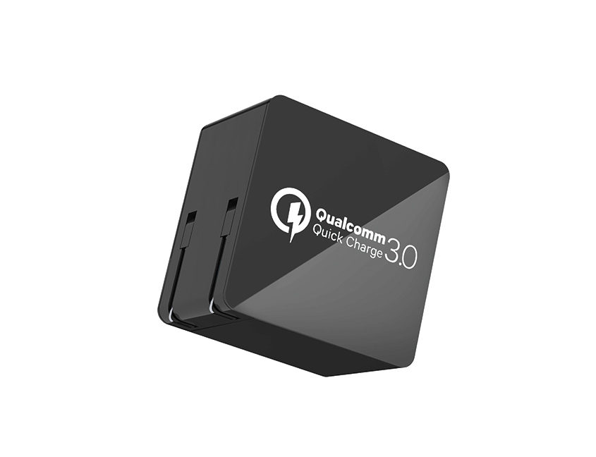 Wall-charger-quick-charge-3.0-black