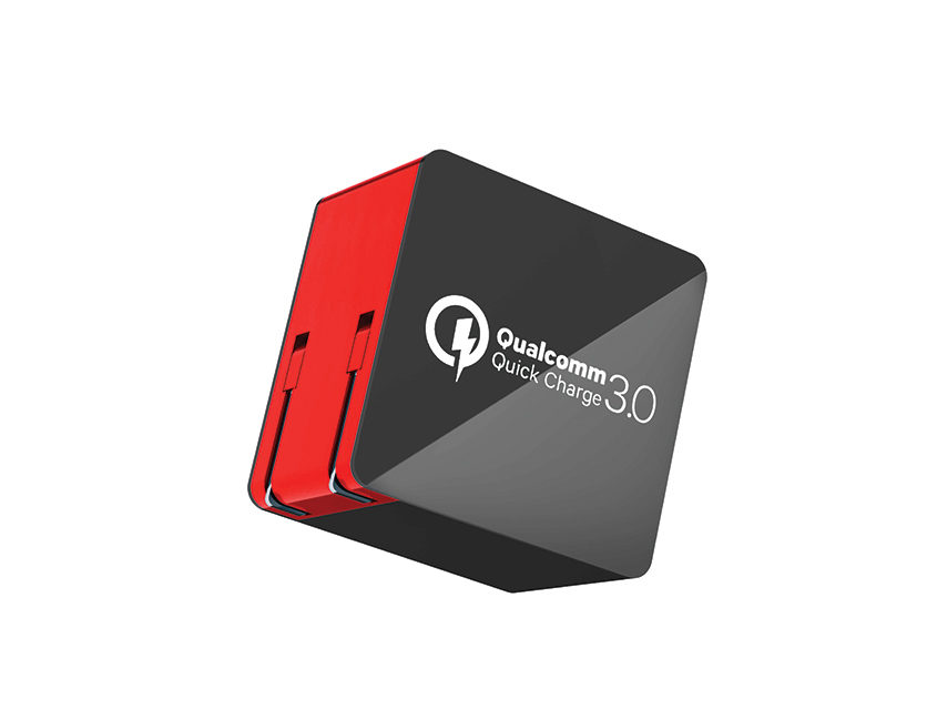 Wall-charger-quick-charge-3.0-black-red
