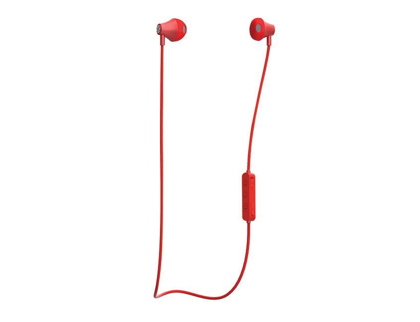 Sport-wireless-earphones-red